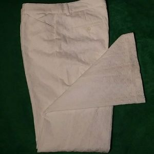 Express Design Studio Pattern Dress Pants